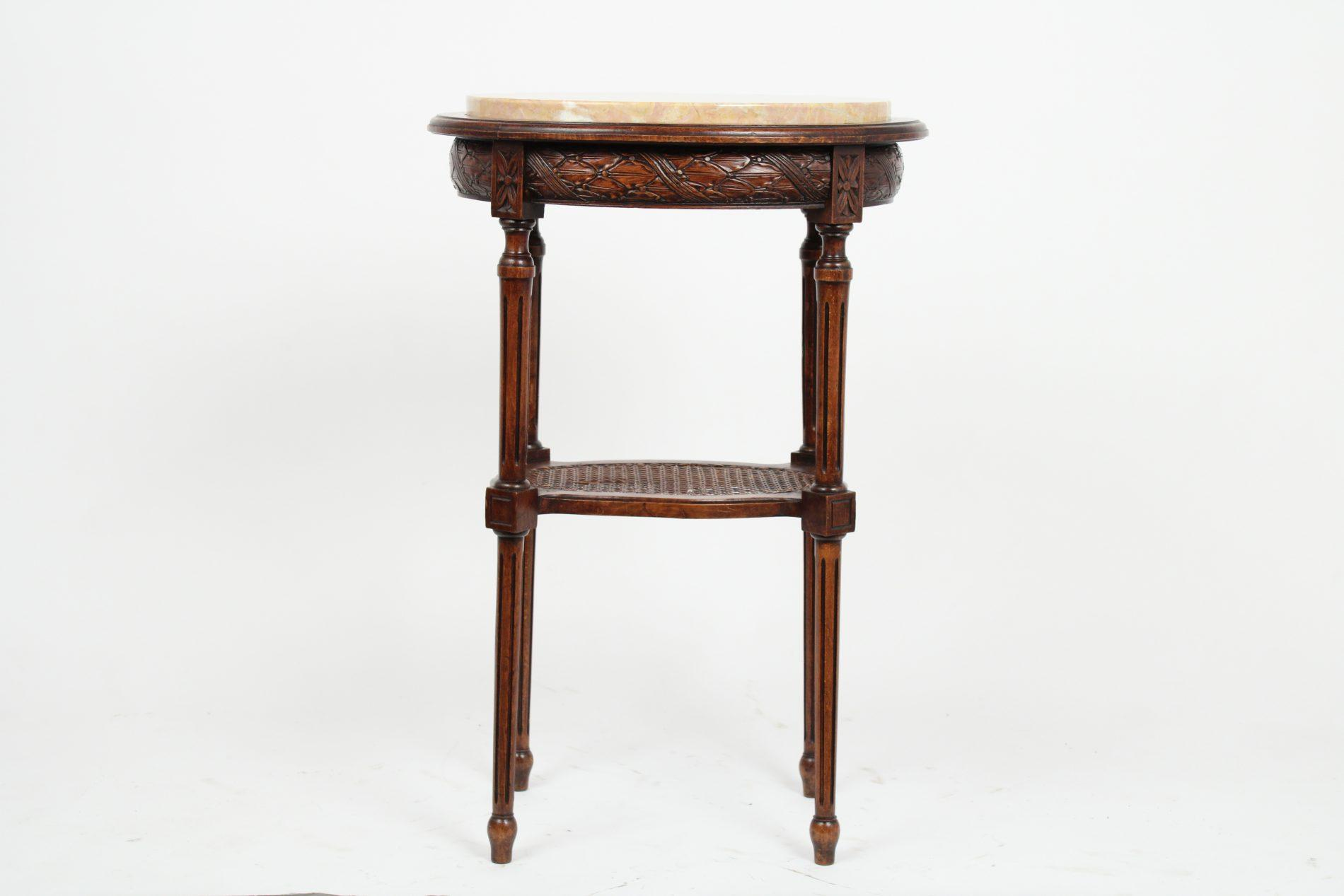 French Antique Louis Xvi Style Side